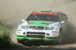 """2012-tų metų Vilniaus ralyje nugalėjo Saulius Girdauskas su """"Škoda Fabia WRC"""""""